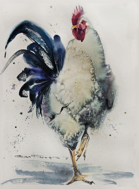 Les animaux peints à l'AQUARELLE - Page 10 D96f1d10