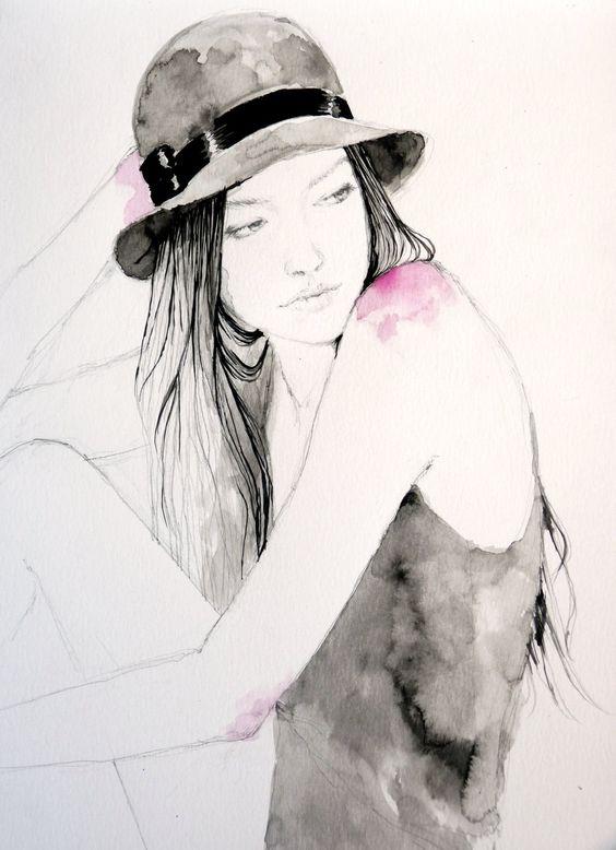"""Des élégantes  """"chapeautées"""" ... - Page 19 Sarah_10"""