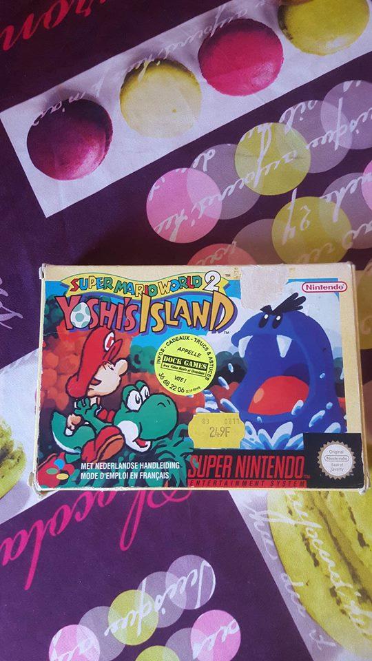 [EST] Super Mario World 2: Yoshi's island Super Nintendo Yoshi_13
