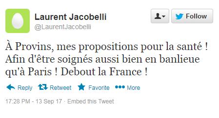 Laurent Jacobelli Twitte18
