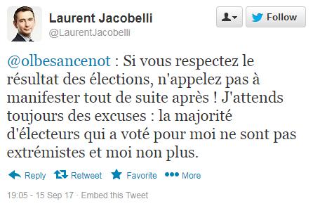 Laurent Jacobelli Twitte23