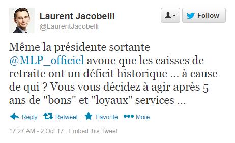 Laurent Jacobelli Twitte27