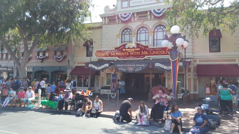 TR DISNEYLAND Anaheim / Yellowstone / Universal 07/17 20170715