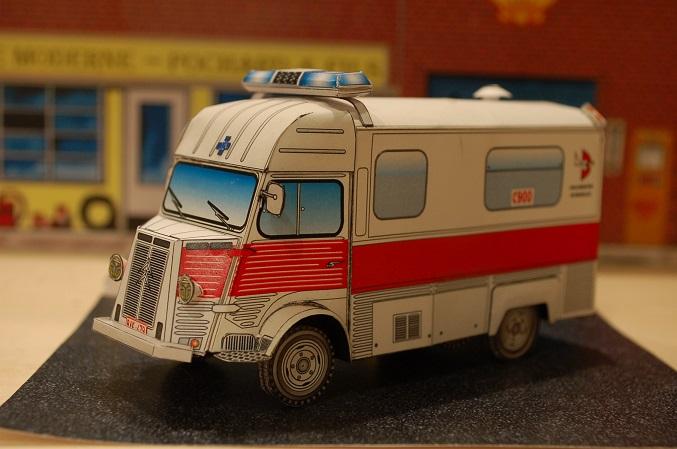 """Citroën type H """"Ambulance Agglomération de Bruxelles"""" 900-110"""