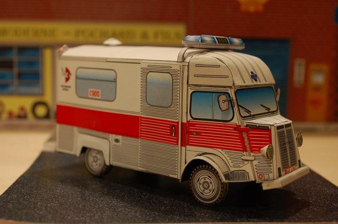 """Citroën type H """"Ambulance Agglomération de Bruxelles"""" 900-210"""