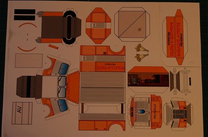 Les réalisations Type H en papier de Erwin Polo110