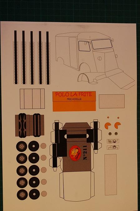 Les réalisations Type H en papier de Erwin Polo210