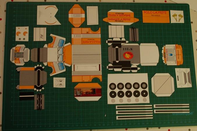 Les réalisations Type H en papier de Erwin Polo310