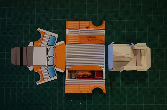 Les réalisations Type H en papier de Erwin Polo410