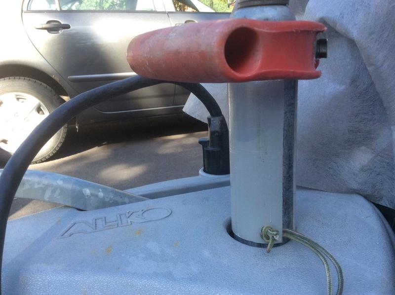 Poignée et tube de sécurité sur le jack 33028010