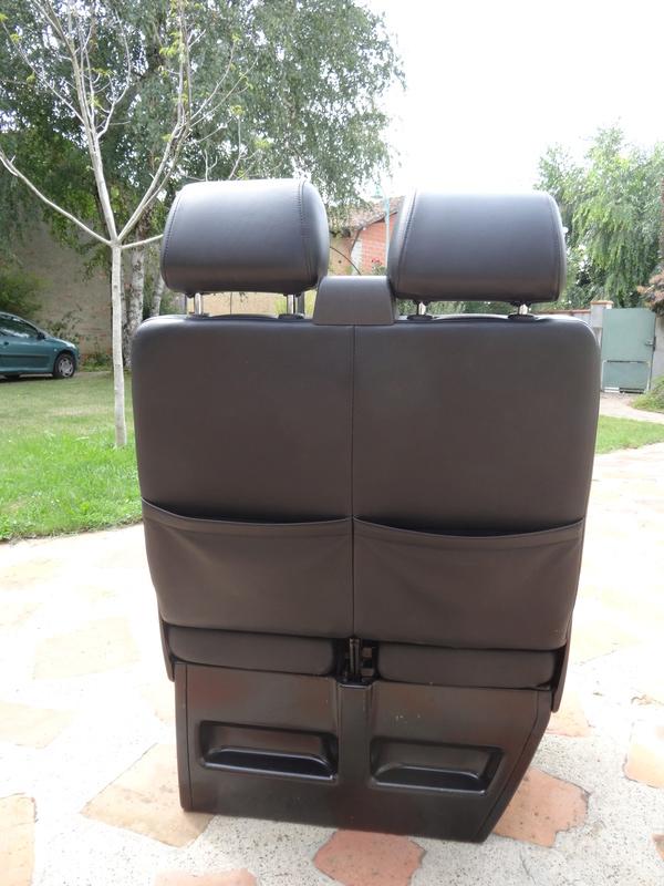 Vends siège passager, 2 places en cuir, TBE. Dsc04514