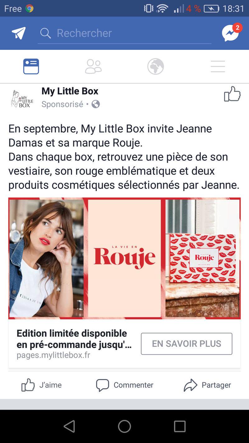 """[Septembre 2017] My Little Box """"La Vie en Rouje Box"""" Screen10"""