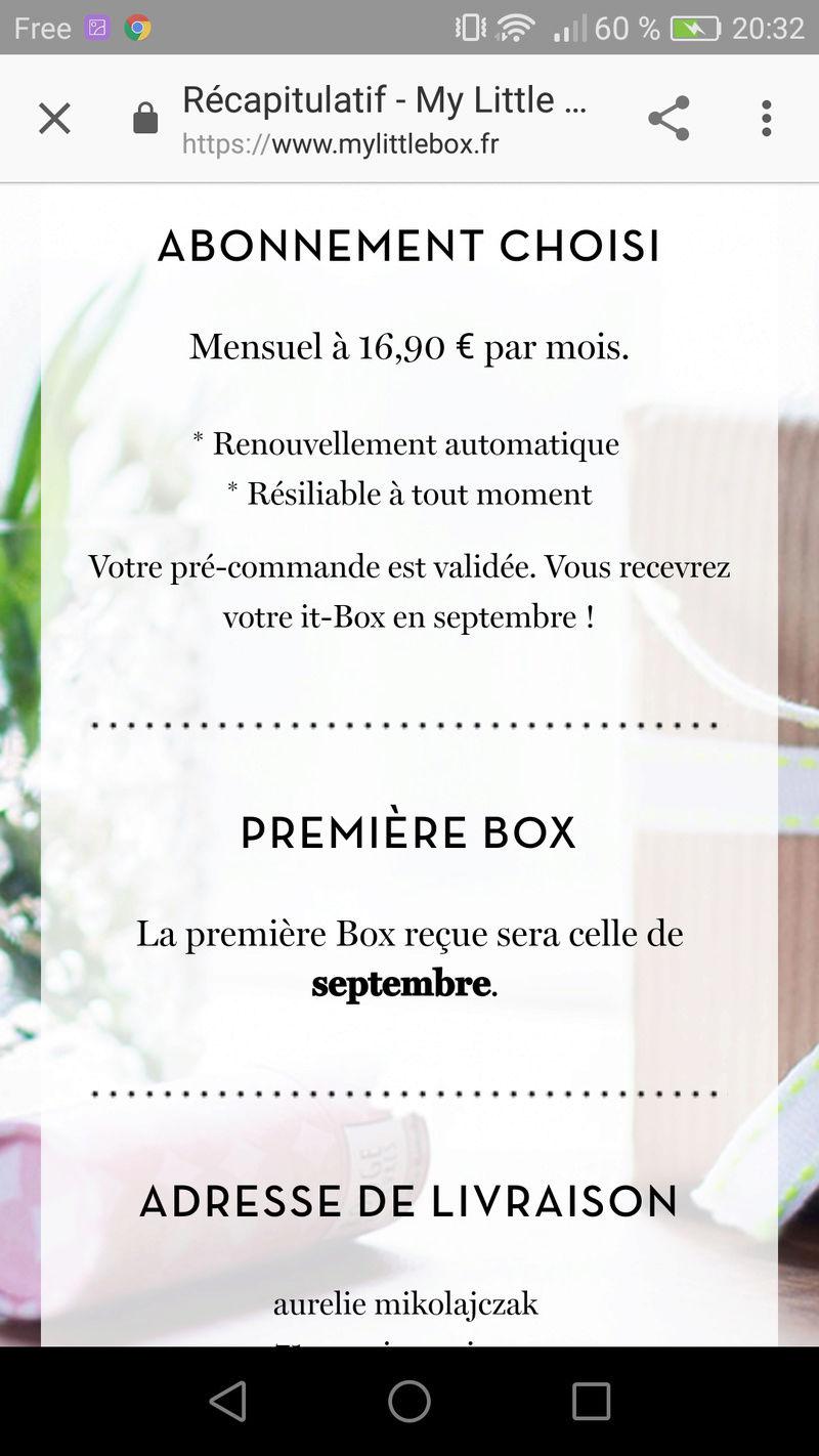 """[Septembre 2017] My Little Box """"La Vie en Rouje Box"""" Screen11"""