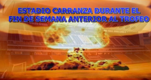 Estadio Carranza y Ciudad Deportiva : deficiencias. Hongo_12