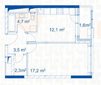 Открылись продажи квартир в корпусах 1а и 1б 2110