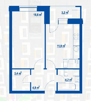 Открылись продажи квартир в корпусах 1а и 1б 44444410