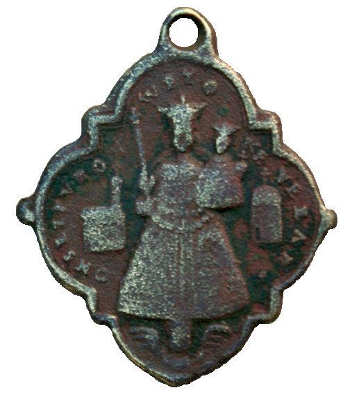 Virgen Maria de  KEVELAER (Renania) / Sagrada Familia, (R.M. SXVIII-Ot 18)(MAM) 110