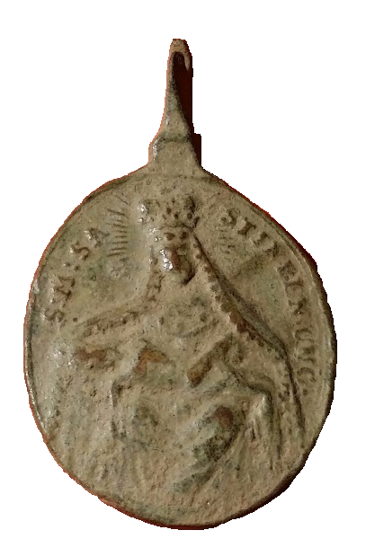 Santa Maria de Sastin (Sedembolestná Panna Mária)/ San Juan Nepomuceno, S. XVIII(MAM) 112