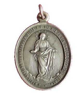 Inmaculada de la Medalla Milagrosa / San Luis Gonzaga ( R.M. S.XX-03) 1310