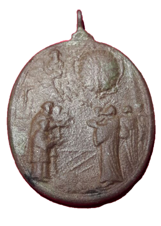 Virgen desconocida / Tránsito de San Benito, S. XVII 411