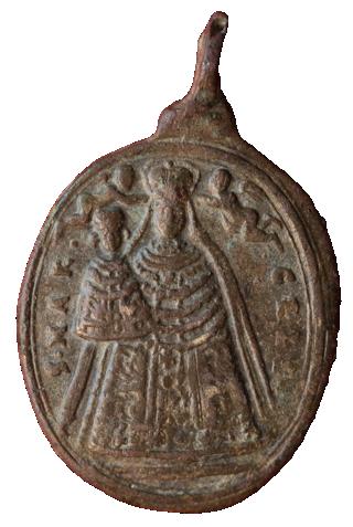 Virgen de Mariazell  / SS. Trinidad de Sonntagberg. S. XVII (MAM) (R.M. SXVII-O452) Heilig10