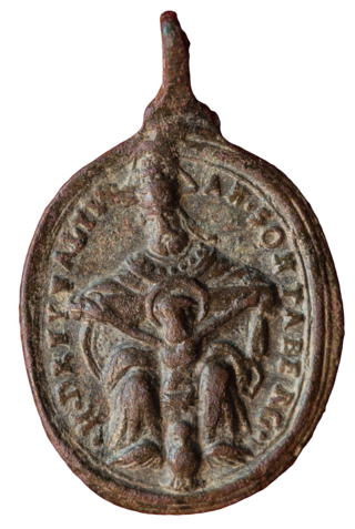 Virgen de Mariazell  / SS. Trinidad de Sonntagberg. S. XVII (MAM) (R.M. SXVII-O452) Heilig11