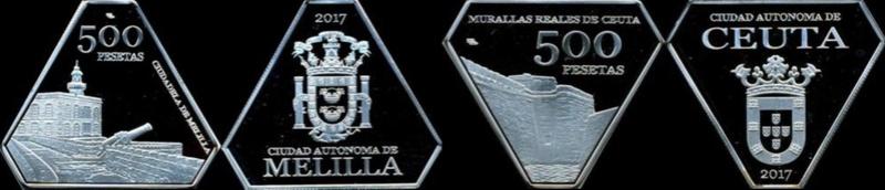 Set monedas Islas Chafarinas Monead10