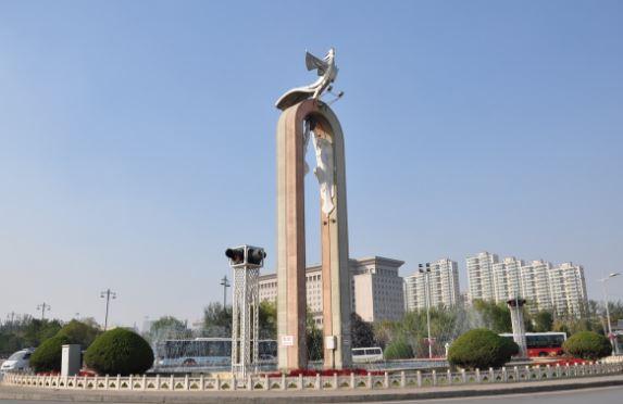 China. 1 Yuan 1988. 30 Aniversario de la Región Autónoma de Ningxia. Unidad10