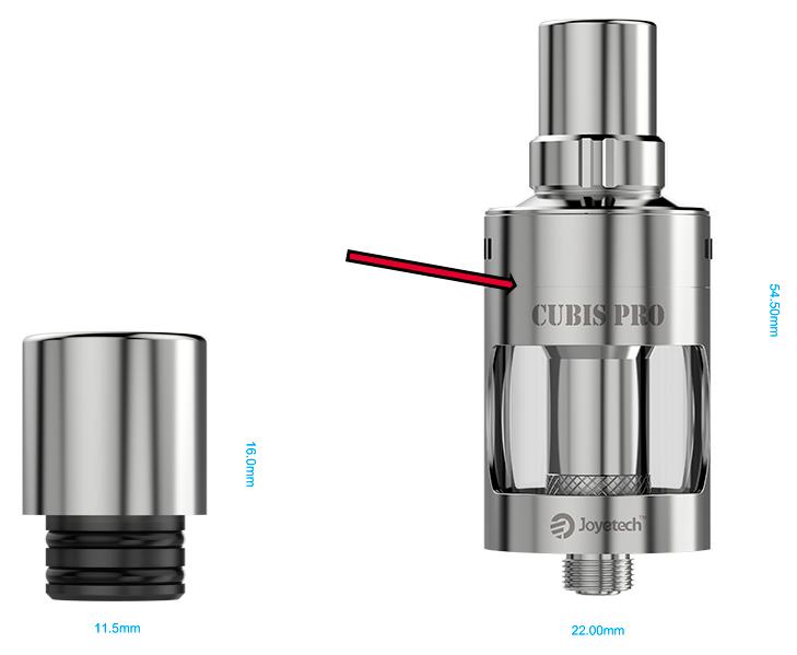 eVic VTwo + Cubis Pro  Cubis_10