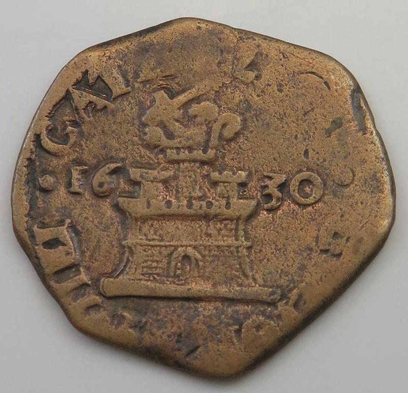 9 caballos Felipe IV ceca de Nápoles 1630  1630_d10