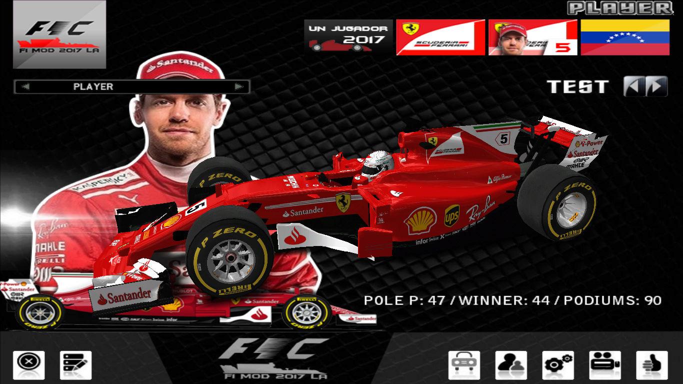 F1 challengue 2017 Mod LA Version 3 F1201712