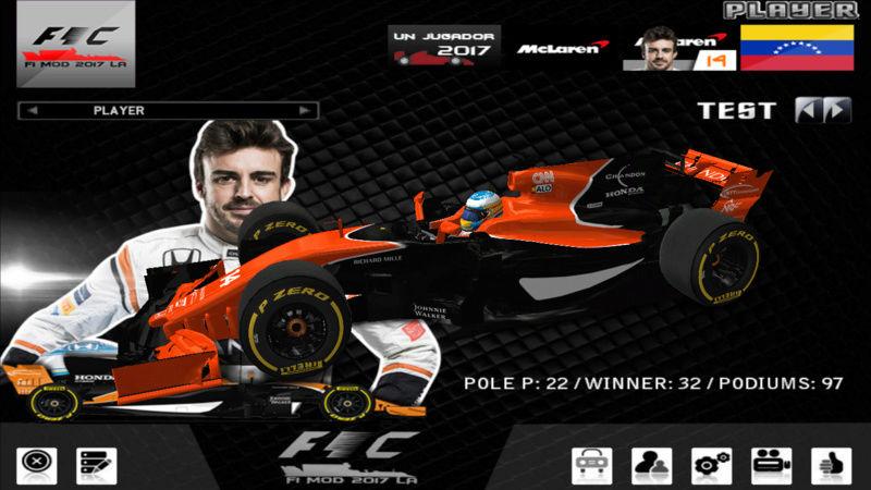 F1 challengue 2017 Mod LA Version 3 F1201718
