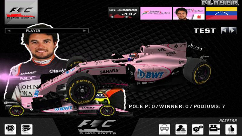 F1 challengue 2017 Mod LA Version 3 F1201720