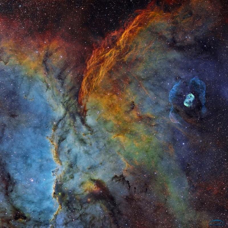 [Ciel Austral] NGC6188 / NGC6164 en SHO et HOORVB depuis le Chili Photo710