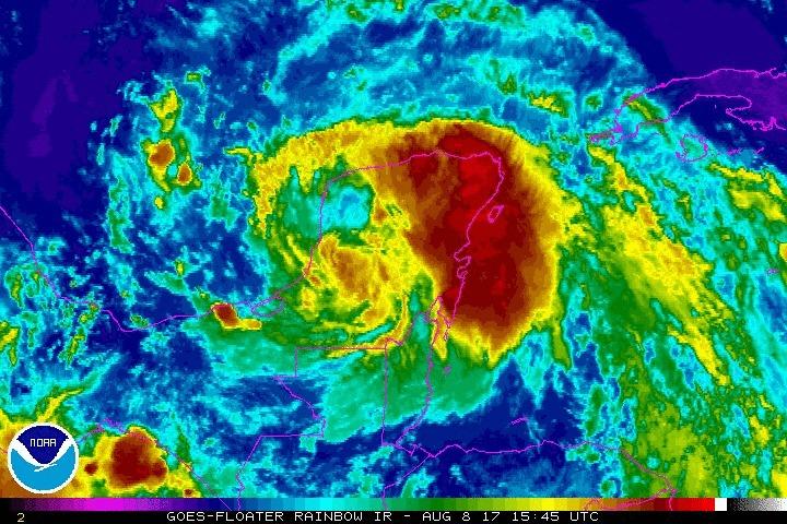 Tormenta tropical Nate deja 22 muertes a su paso por Centro América Nate10