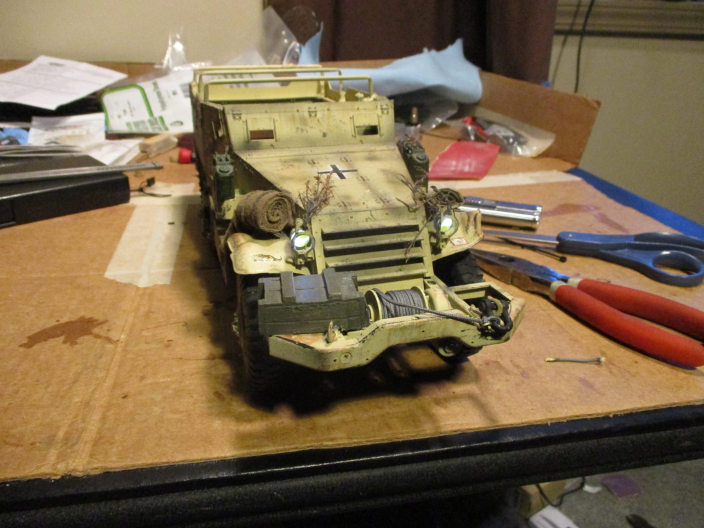 Captured Half Track 7-16-110