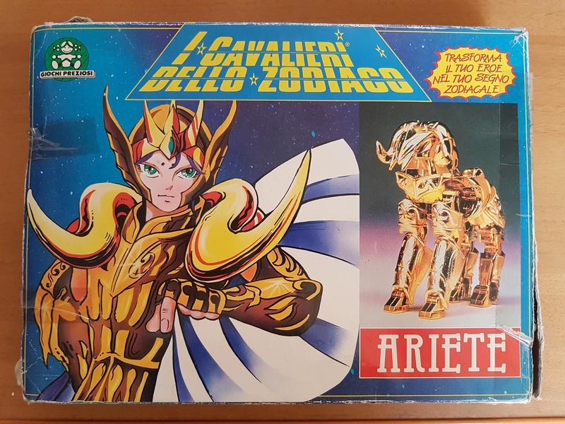 Cavalieri - I cavalieri dello zodiaco - Ariete (scatola blu) 20170712