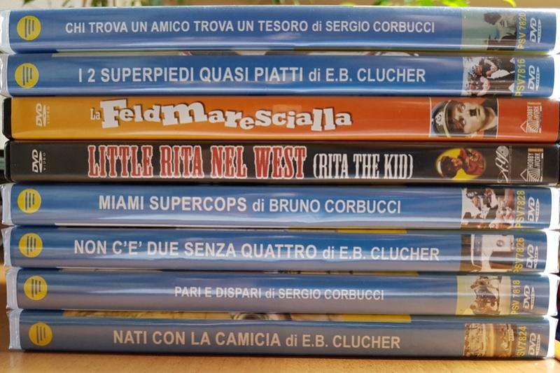 Dvd Bud Spencer e Terence Hill Screen24