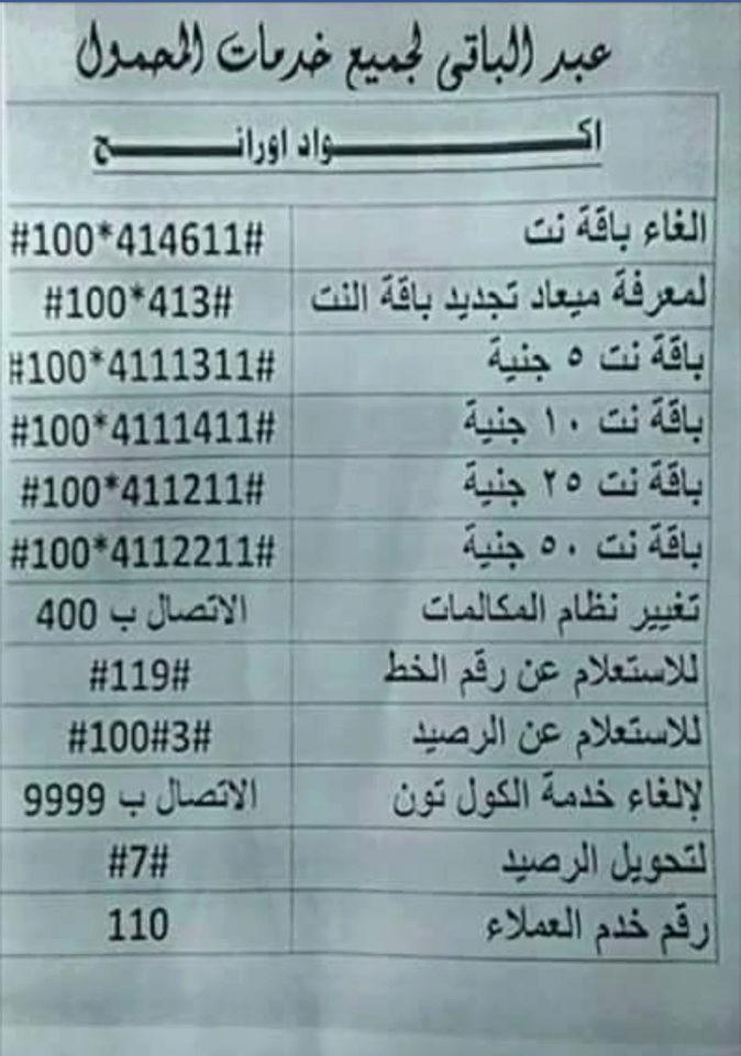 اكواد المحمول: كود التليفون خارج نطاق الخدمة أو الرقم الذي طلبتة غير صحيح وكود منع المعاكسات ...الخ 410
