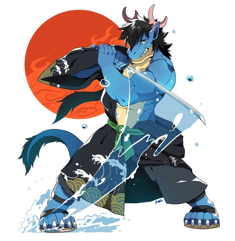 Musachi Ryumoto, espadachín de la niebla. 14994310