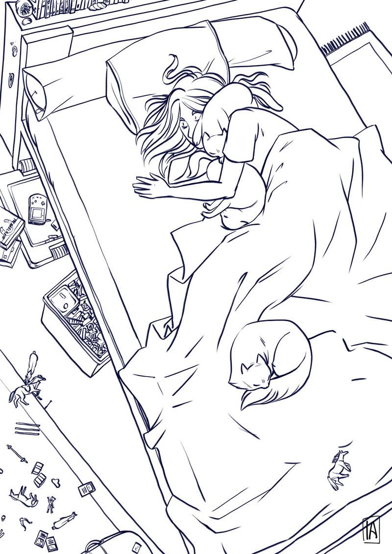 Sketchbook : IsaArne [ Challenge de l'ete P7 ] - Page 2 Catill15