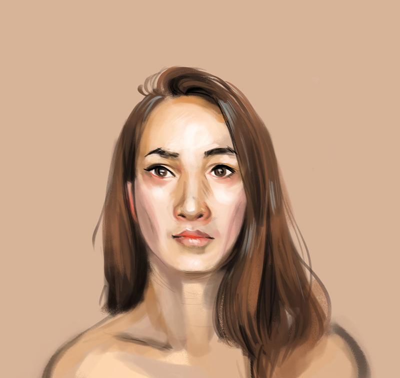 Sketchbook : IsaArne [ Challenge de l'ete P7 ] Study012