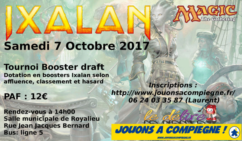 Tournoi Booster Draft du 7 octobre 2017 : IXALAN Tourno12