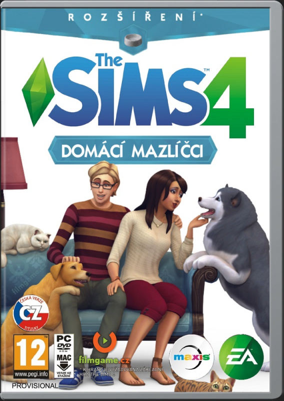 The Sims 4 Dogs and Cats EP. (BOXART AND RENDER) Www_fi11