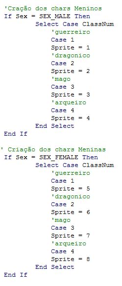 [TFE] Mudando a sprite de cada classe Sem_ty14