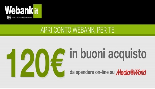 WEBANK regala BUONO MEDIAWORLD € 120 [promozione scaduta il 31/07/2019] - Pagina 3 Cattur17