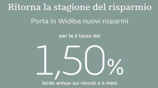 WIDIBA promo vincoli 1,50% a 6 mesi [scaduta il 04/10/2017] Cattur21