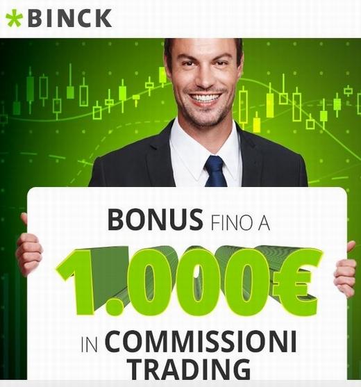 BINCK regala 1.000 € BUONO AMAZON o 1.000 € in commissioni trading [scaduta il 30/09/2017] Cattur34