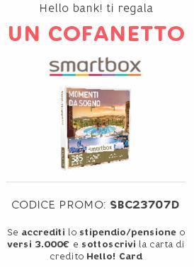 HELLO BANK regala COFANETTO SMARTBOX del valore di € 239,90 [promozione scaduta il 27/09/2018] - Pagina 3 Immagi11