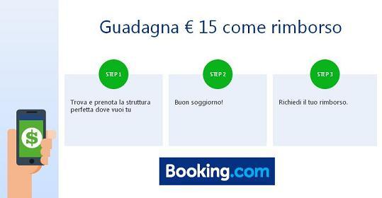 BOOKING: TI RESTITUISCE € 15 DOPO IL TUO SOGGIORNO! Immagi15